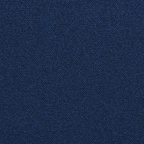 E957 Navy Dark Blue Woven Soft Crypton Performance Upholstery Fabric by The Yard