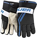 Bauer Senior Street Hockey Players Glove (Pair), Large, Black