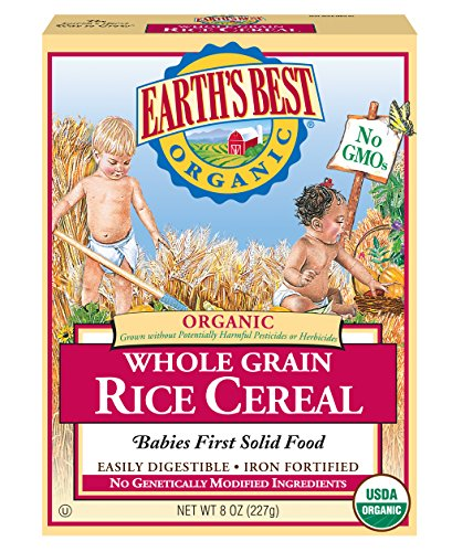 Earths Best Organic Whole Cereal