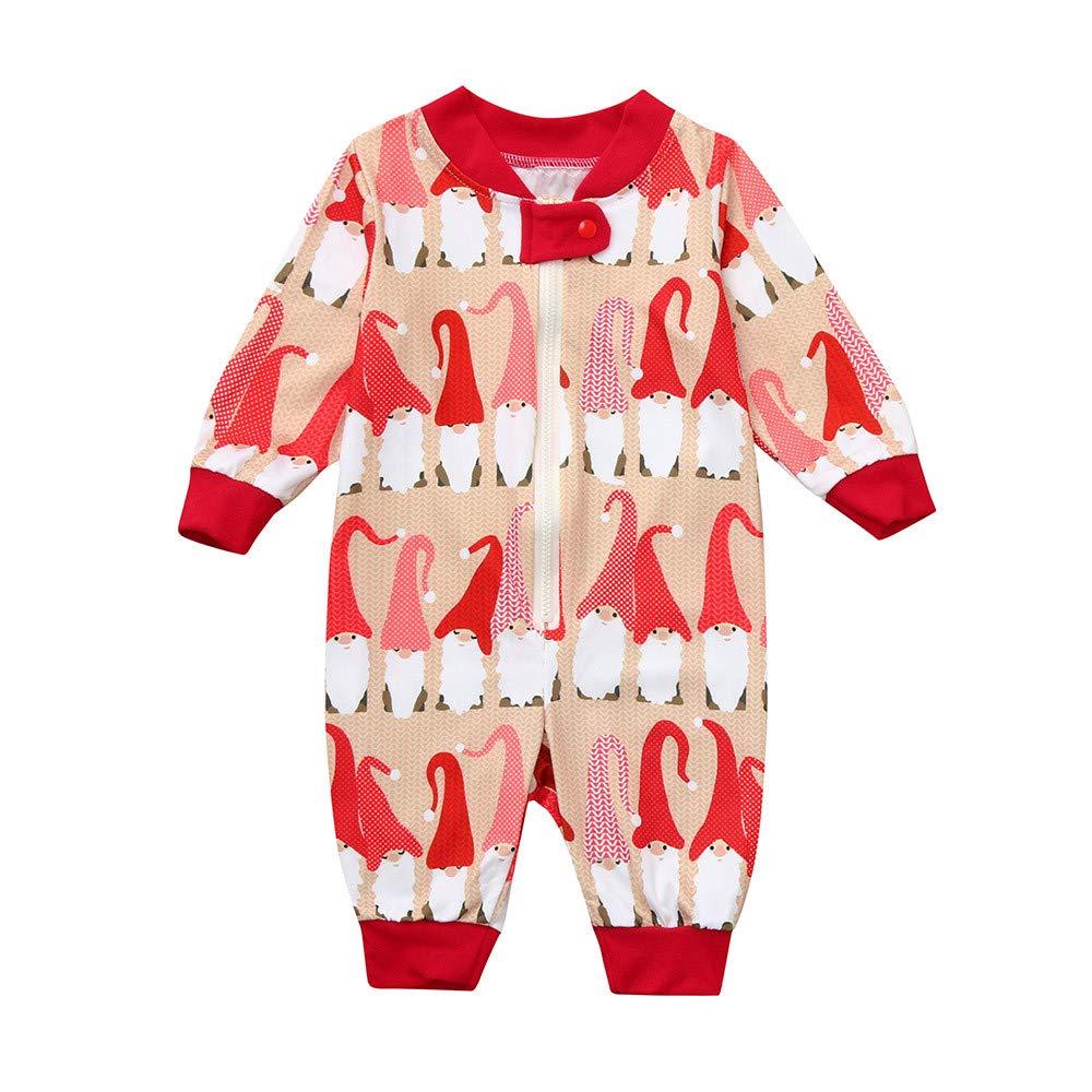 Family Pajamas Sleepwear Christmas Set Men Daddy Cozy Santa Claus Tops Blouse Pants Merry Christmas