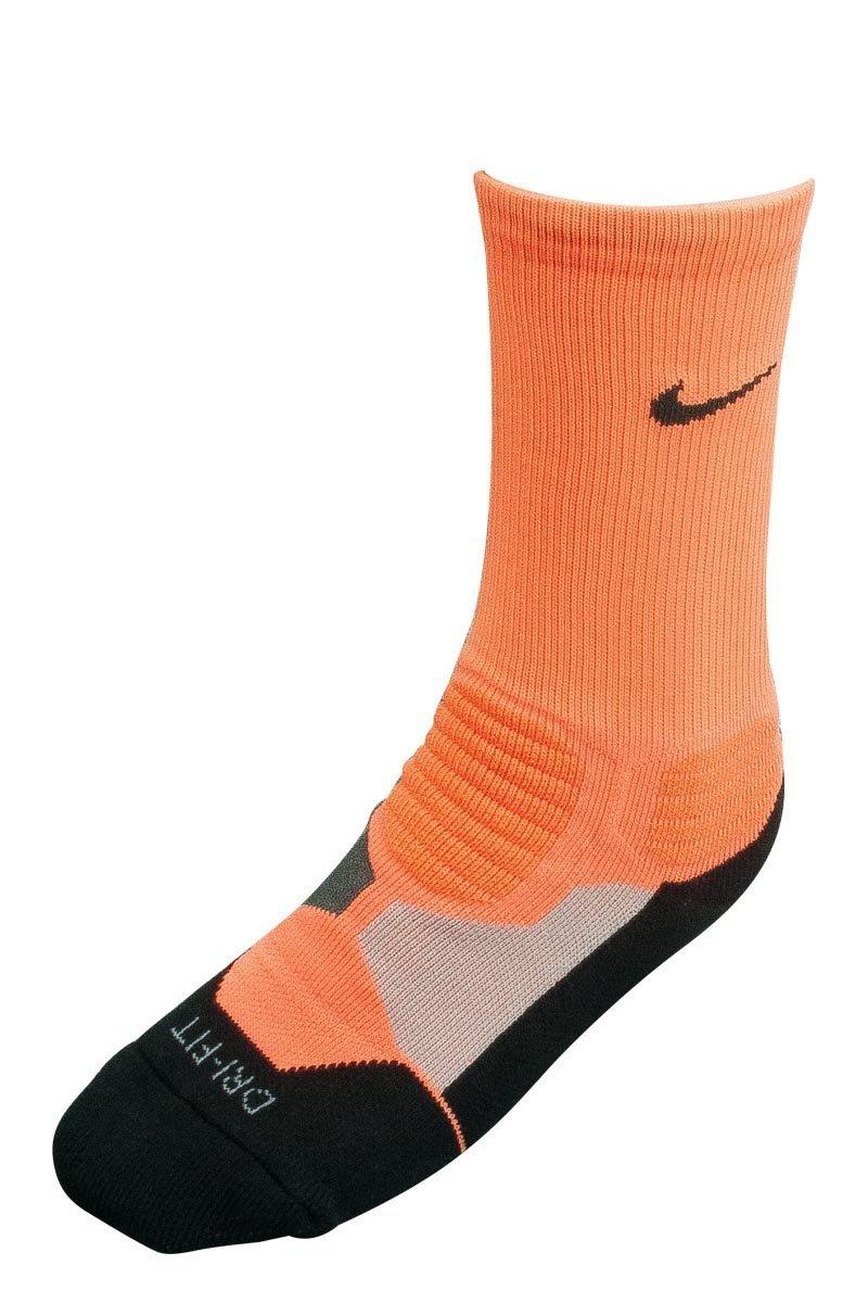 e8c5dd36837f Amazon.com   Nike Hyper Elite Cushioned Basketball Crew Socks (Small)    Sports   Outdoors