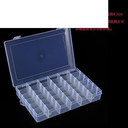 Plástico transparente joyero/Pequeña caja de almacenamiento/pastillero/mano a mano decoradas cajas