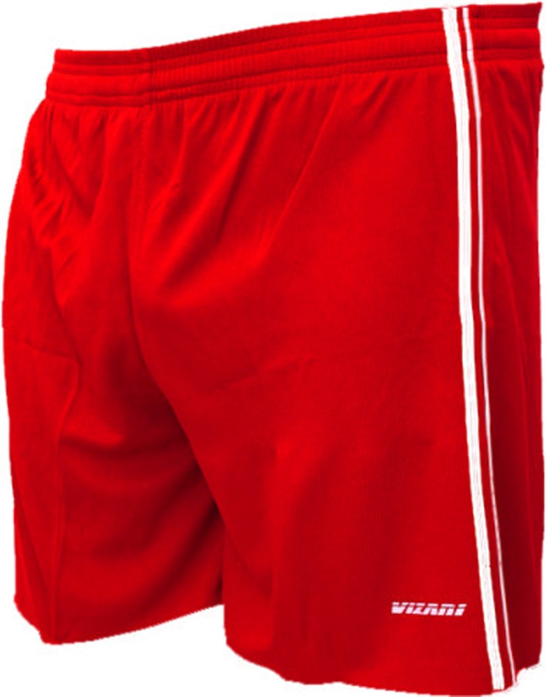 Vizari Campo Soccer Shorts B00S3L9CZW Adult Medium|レッド レッド Adult Medium