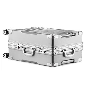 0ac34689afa1 Aluminum frame and PC shell Anti-scratch trolley luggage 20
