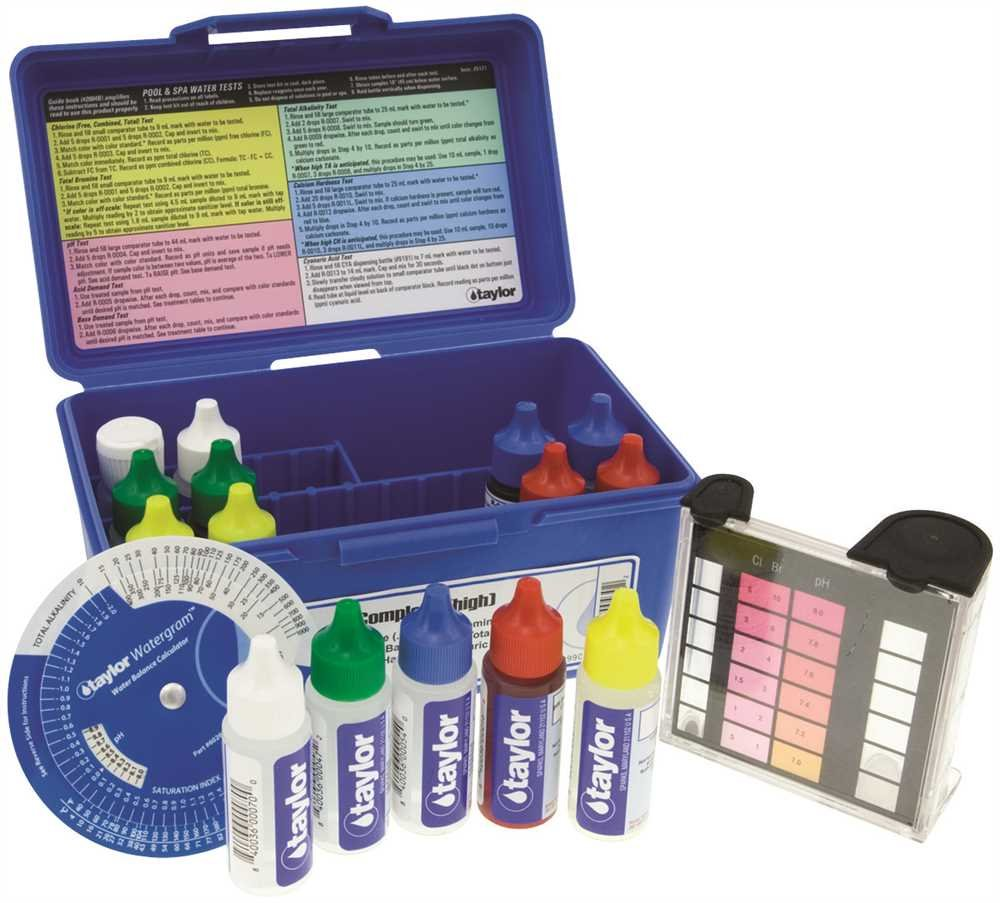 Taylor 45-912 Dpd Test Kit Complete by TAYLOR