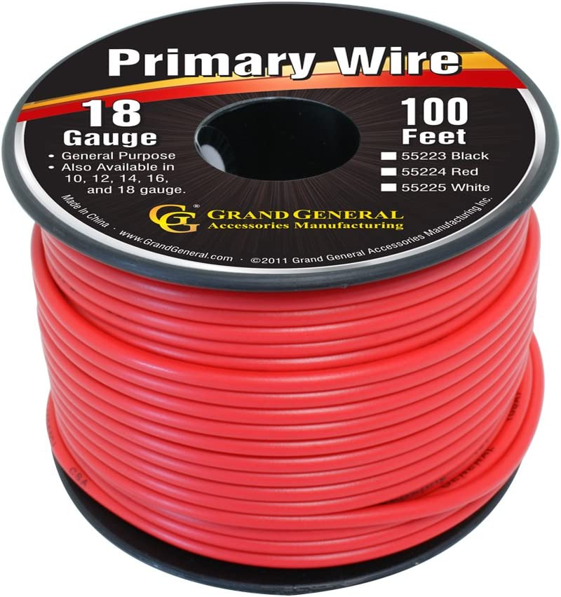RD SOUTHWIRE COMPANY 55667423 18 AWG 1 Conductor Automotive Primary Wire 100 ft