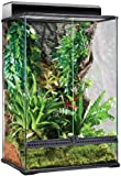 Exo Terra High Glass Terrarium, 24 by 18 by 36-Inch