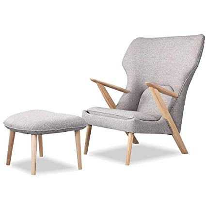 Beau HTF Mid Century Modern Lounge Chair With Ottoman Upholstery Cub Chair  Modern Contemporary Lounging Luxuriously Living