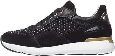 NeroGiardini A909006D Sneaker Altas Mujer De Piel, Ante Y Charol