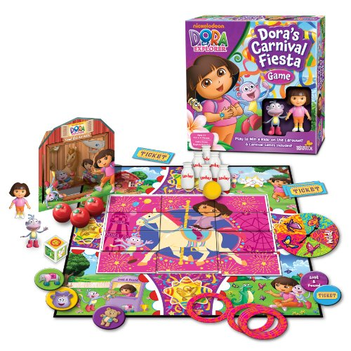 Game Board Dora The Explorer (Dora the Explorer Carnival Fiesta Game)