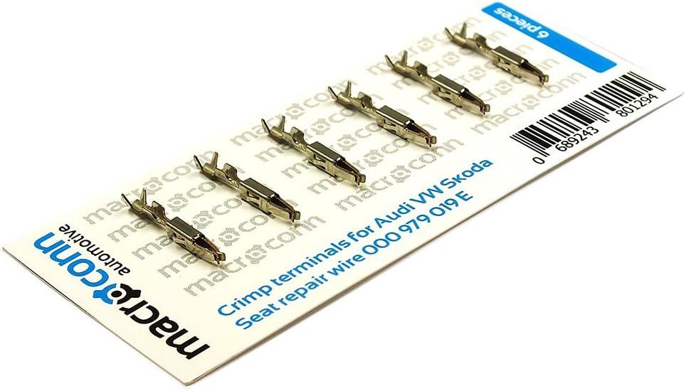 Macroconn crimp terminals for repair wire 000979025E 6 pieces