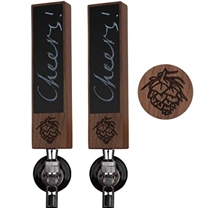 Amazon Com Fanfoobi Double Beer Tap Handle Display 8 Length X 2