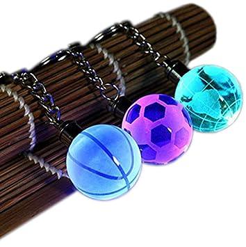 CZ-XING Llavero de bola deportiva (3 unidades), diseño de ...