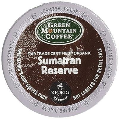Green Mountain Fair Trade Organic Sumatran Reserve Extra Bold 4 Boxes of 24 K-Cups