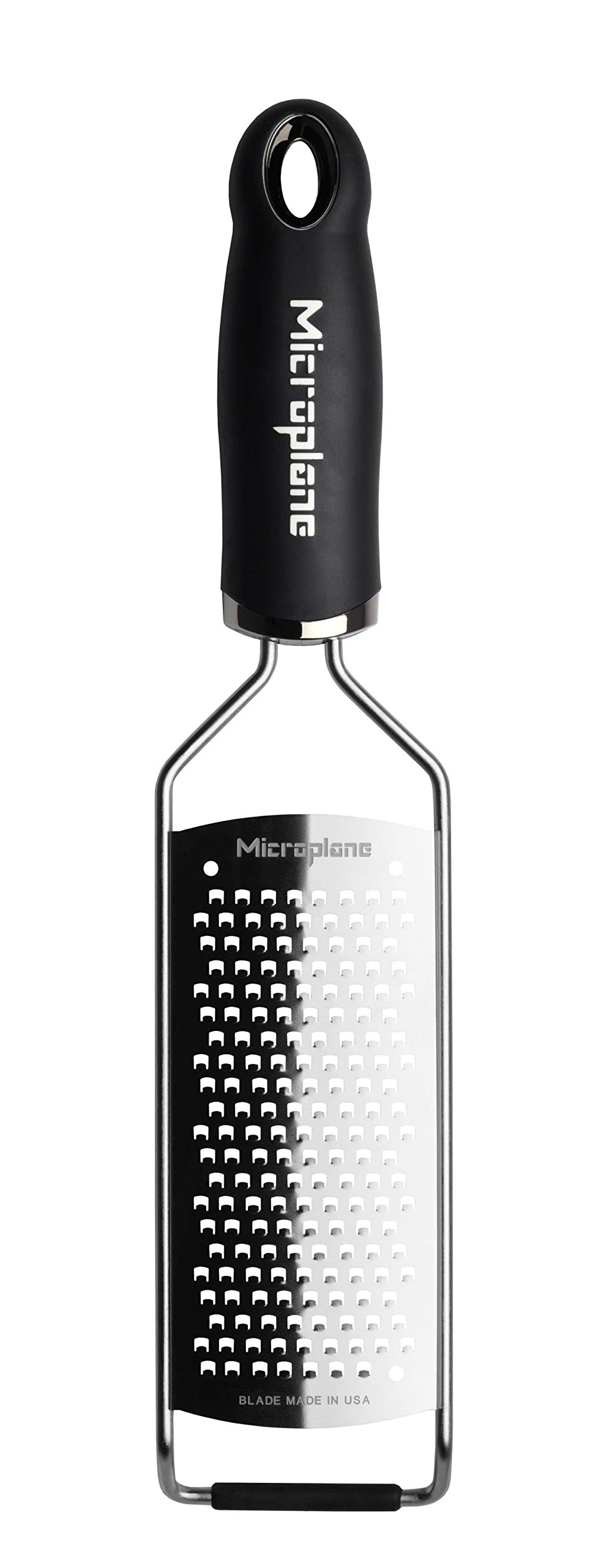 Microplane 45000 Gourmet Series Coarse Cheese Grater 18/8 Silver by Microplane
