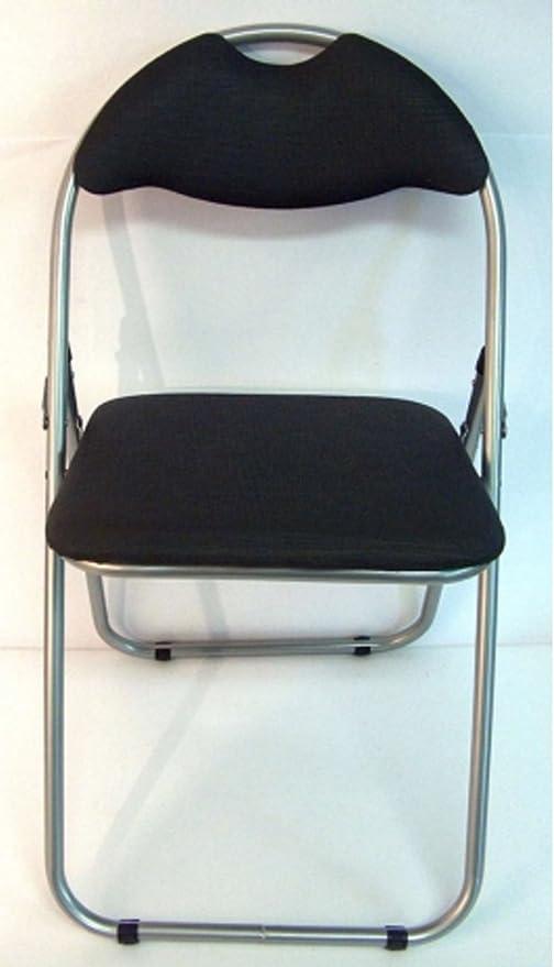 Casa y jardín Color silla taburete plegable con respaldo y asiento ...