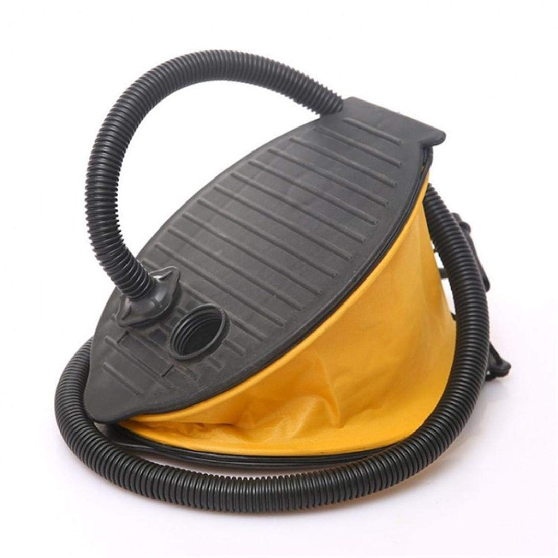 Bellows Foot Pump, Sacow Collapsible Bellow Foot Air Pump for Camping Air Mattress Bed Pad Mat