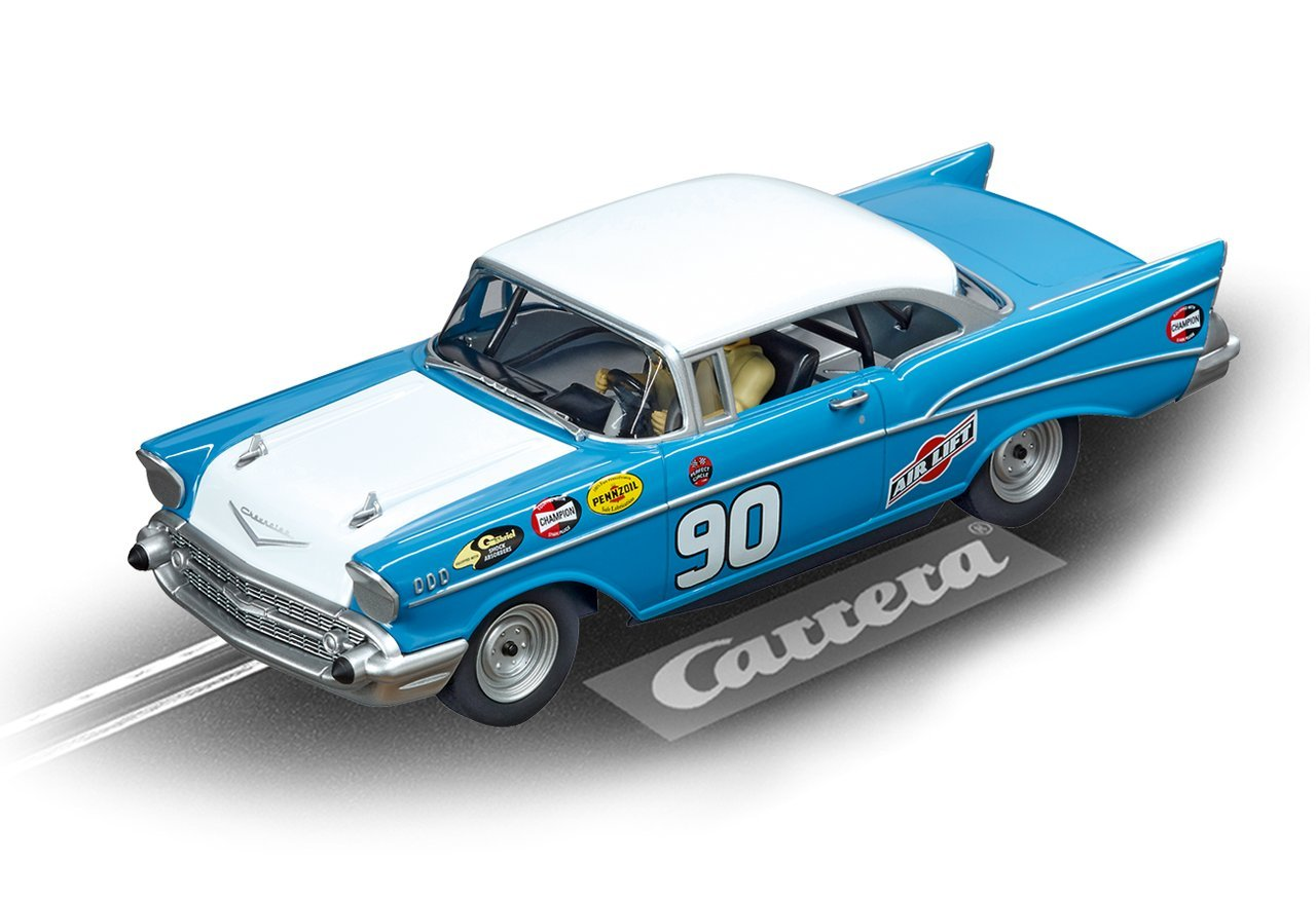 Carrera 27555 Chevrolet Bel Air '57 No.90 1/32 Slot Car by Carrera (Image #1)
