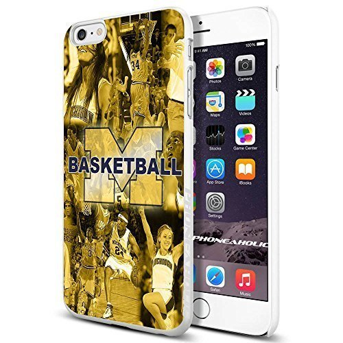 NCAA Michigan Basketball , Cool Case Cover For Ipod Touch 4 Smartphone Collector iphone PC Hard Case White [By PhoneAholic]