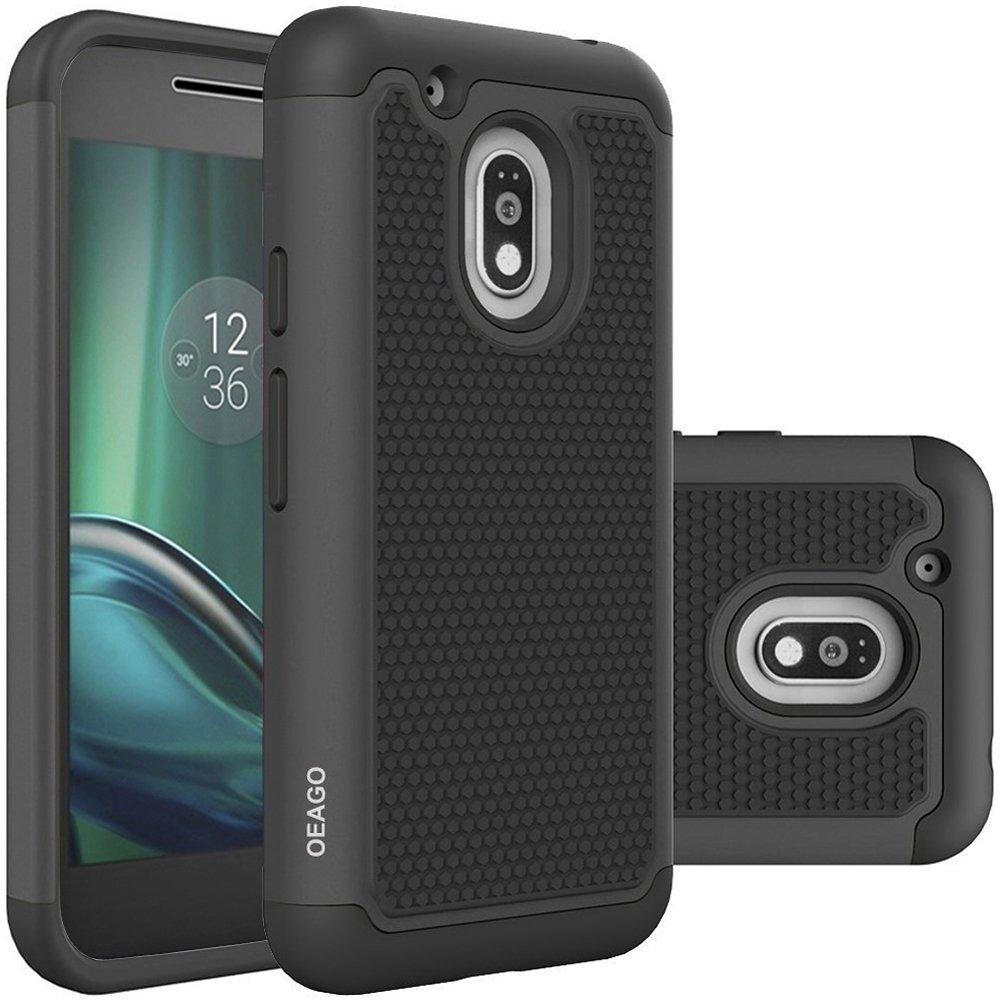 lowest price f5d58 71ad9 Amazon.com: Moto G Play Case, OEAGO Moto G4 Play Case Cover ...