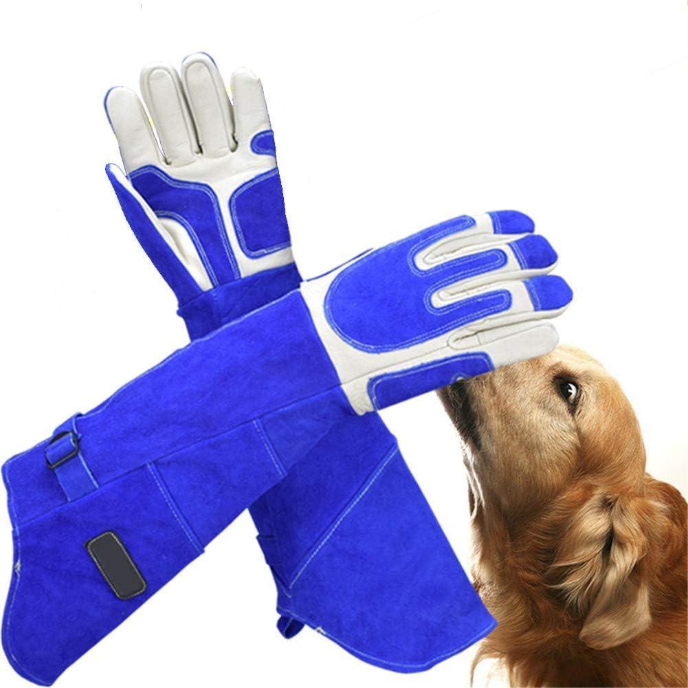 LAK Guantes De Mascotas Guante De Protección contra Mordeduras/Arañazos Engomado para Perro Gato Lagarto Serpiente