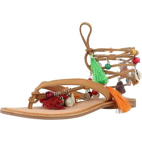 Sandalias y chanclas para mujer, color marr�n , marca GIOSEPPO, modelo Sandalias Y Chanclas Para Mujer GIOSEPPO B7080 Marr�n