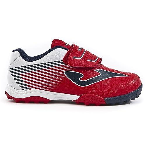 Zapatillas Fútbol Joma TACTIL JR 806 Rojo Turf: Amazon.es: Zapatos y complementos