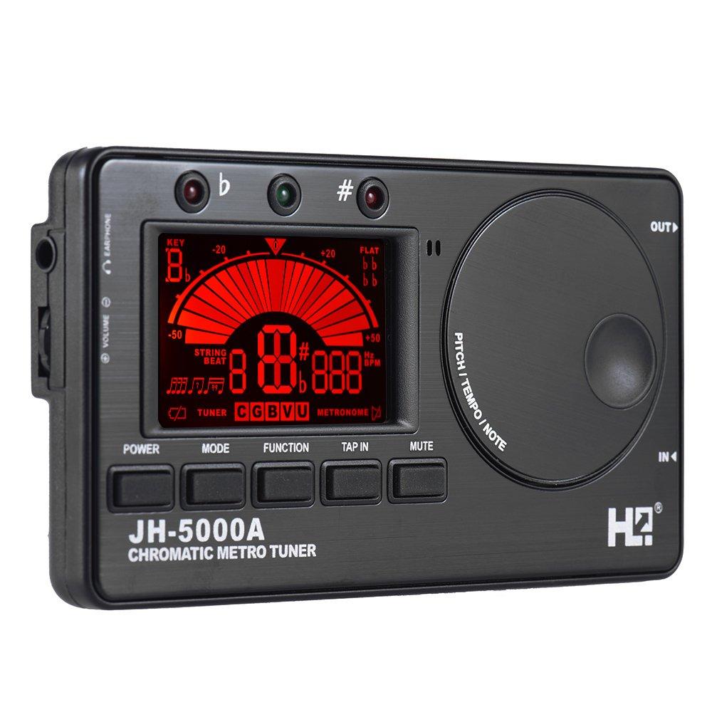 ammoon 3 en 1 électronique Numérique Tuner Métronome Tone Generateurr Intégré Mic Tuning Ecran LCD pour Chromatique Guitare Basse Ukulélé Violon