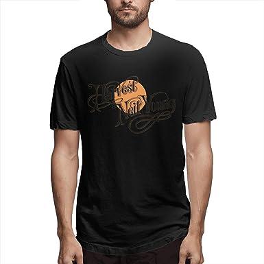 Camiseta de Manga Corta de algodón para Hombre Camisas de protección Solar Top d: Amazon.es: Ropa y accesorios