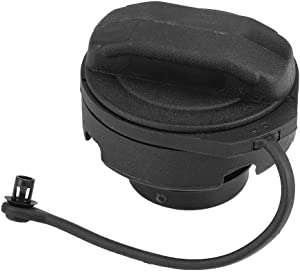 Fuel Gas Tank Cap,Black ABS Fuel Gas Tank Cap Cover for Audi A3 A4 A6 A8 Allroad RS6 S6 S8 and VW Beetle Cabrio Golf Jetta Passat Touareg 1J0201553A