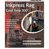 Inkpress PRCT3005750 Fine Art Rag Cool Tone 300 GSM 5in. X 7in. 50 Sheets