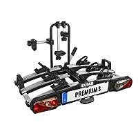 """Eufab 11522 Heckträger """"Premium III"""" für Anhängekupplung klappbar 3 Fahrräder"""