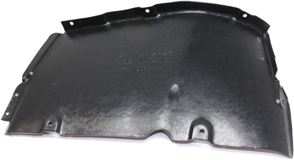 Cover Liner Extension Trim: Base Replacement For 51717027448 BM1251131 For BMW 745Li Splash Guard//Fender Liner 2002 03 04 05 Front Passenger Side