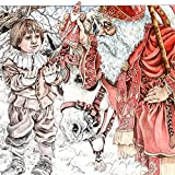 #2: The Baker's Dozen Coloring Book: A Grayscale Adult Coloring Book and Children's Storybook Featuring a Christmas Legend of Saint Nicholas (Skyhook Coloring Storybooks)