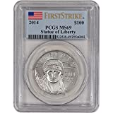2014 American Platinum Eagle (1 oz) $100 MS69 First Strike PCGS