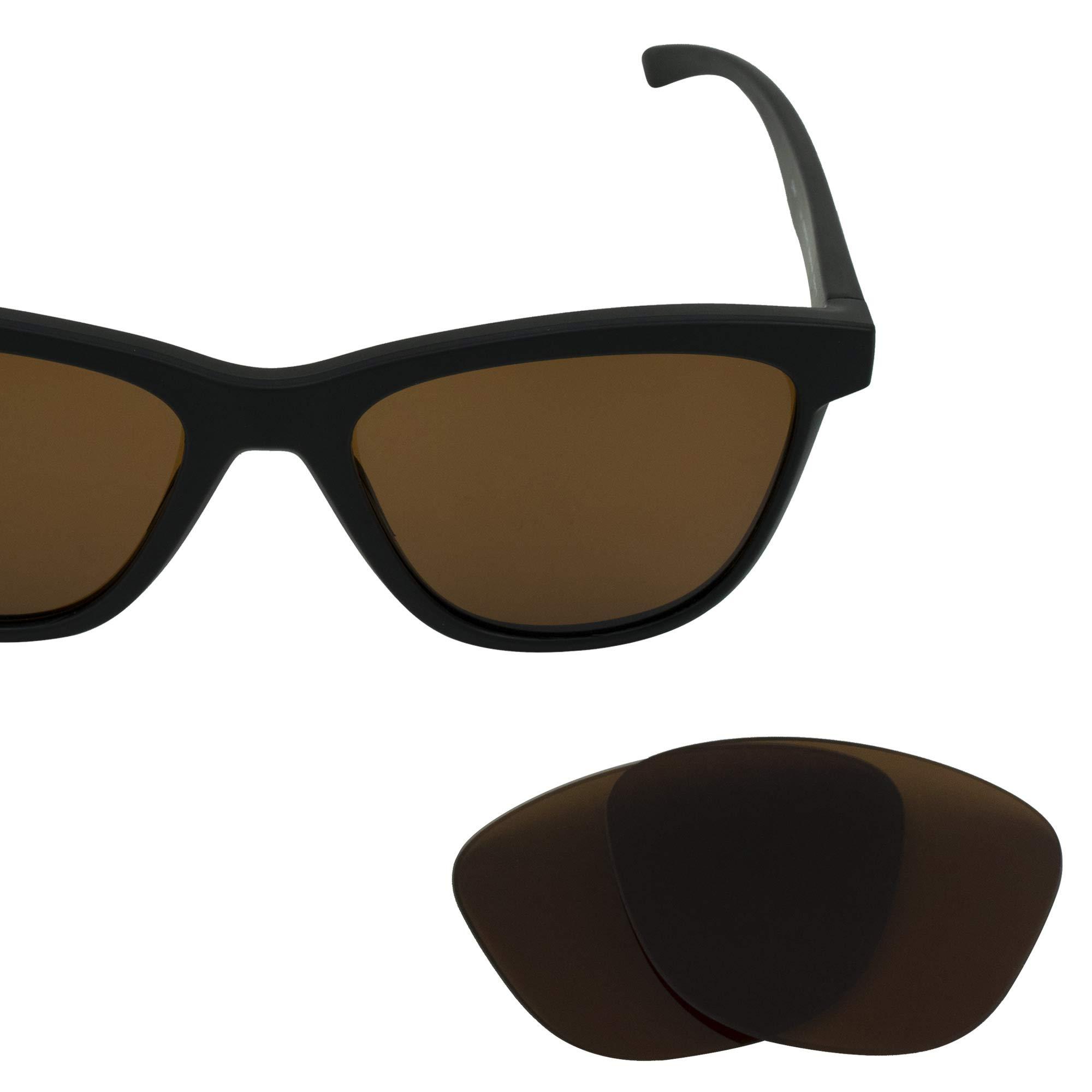 LenzFlip Replacement Lenses for Oakley Moonlighter | Women's Brown Polarized | 100% UV Protection