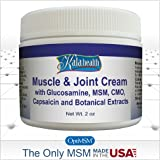 Kala Health - Natural Topical Muscle & Joint Cream - Fast Acting Topical Cream for Muscle Discomfort - Contains Glucosamine, MSM, CMO and Capsaicin to Provide Quick Relief.