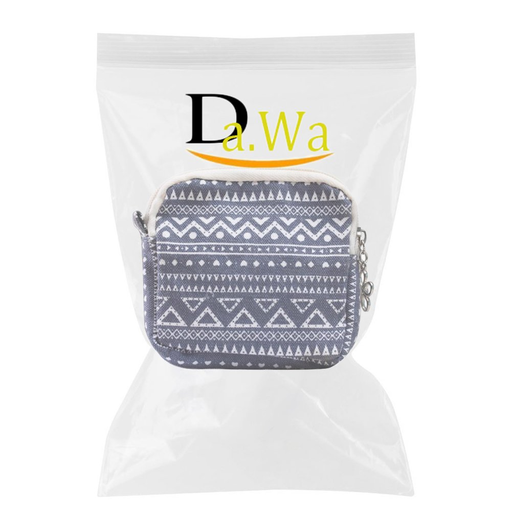 Da.Wa Sac /à main pour femmes /à fermeture /à glissi/ère pour femmes Porte-serviettes /à serviette hygi/énique Serviette /à serviette Sac /à provisions,bleu