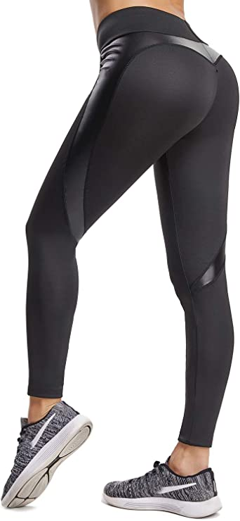 Sport Womens Compression Fitness Leggings Running Yoga Gym Pants Workout Wear 92