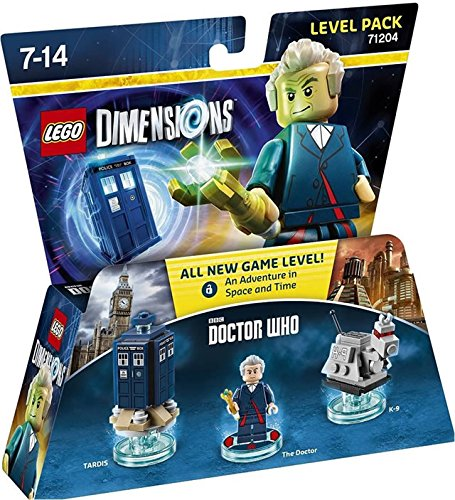 Dr. Who Level Pack - Lego Dimensions (Lego Dimensions Adventure Time Level Pack Instructions)