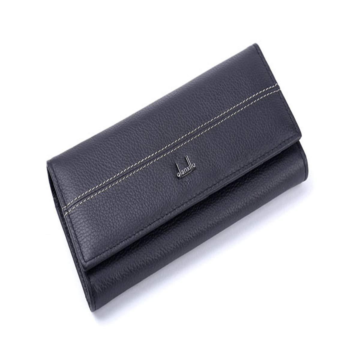 Women's Blocking Pocket Wallet Ladies Mini Purse