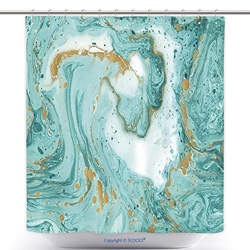 Durable Shower Curtains Decorative Marble Texture Abstract Painting Can Be Used As A Trendy Background For Wallpapers 519433312 Polyester Bathroom Shower Curtain Set With Hooks