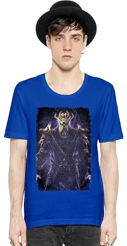 a502cb4c1e6ac The Elder Scrolls V Skyrim Dragonborn Last Short Sleeve Mens T-shirt  X-Large: Amazon.co.uk: Clothing