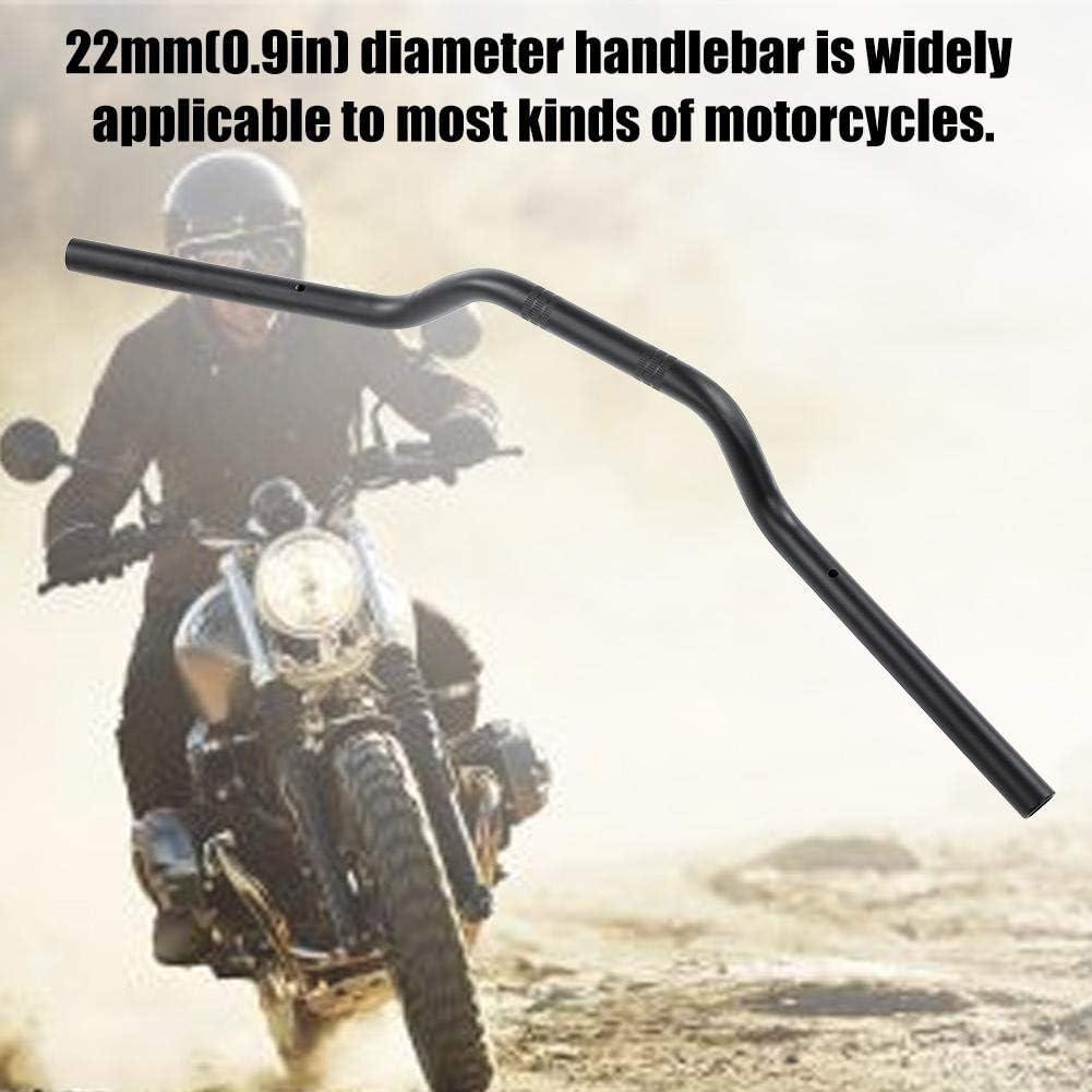 22mm Universal Motorrad Lenker Stahl Drag Bar Modified Ersatzteil Chrom