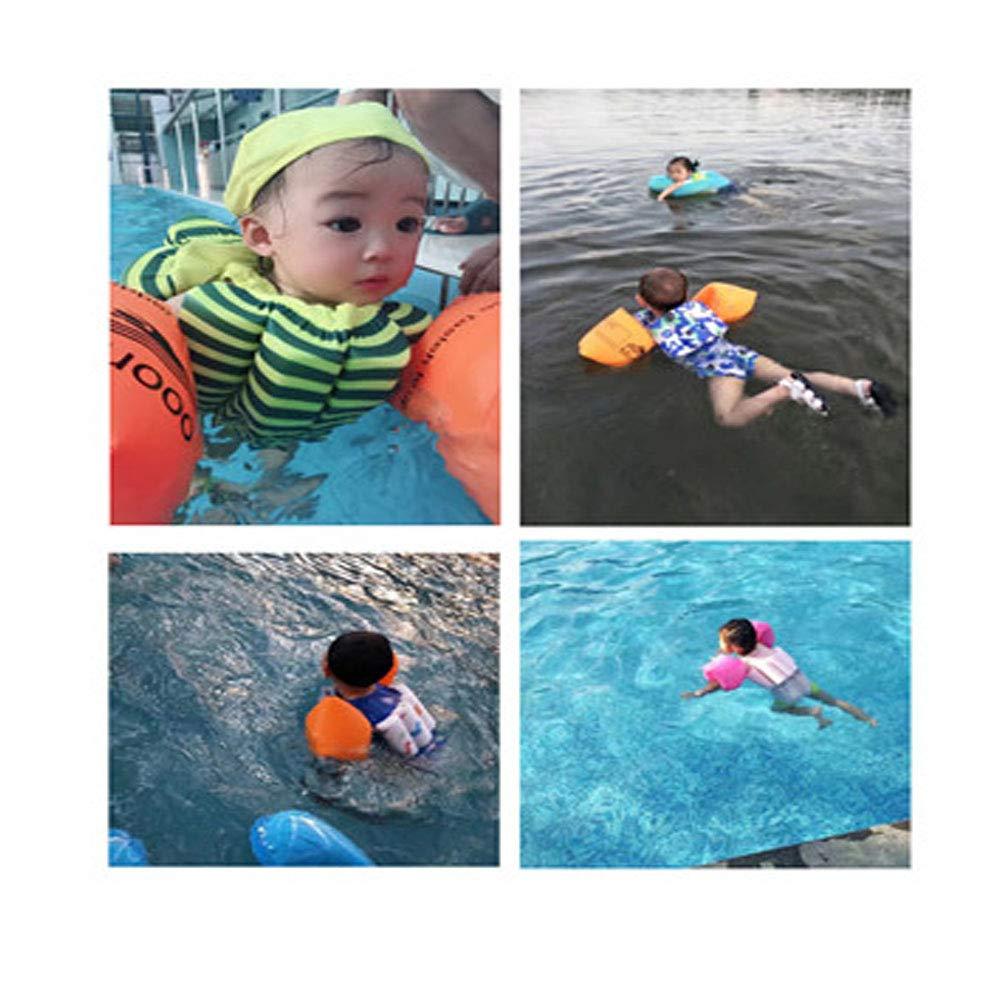 MUYCO Ni/ños Flotante Ba/ñadores Traje de Ba/ño Chaleco de nataci/ón flotabilidad Ajustable