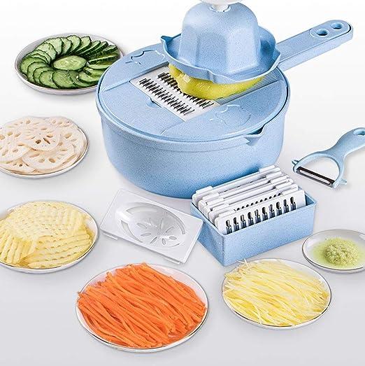Compra Junphsion Picadora de Alimentos fácil y Multifuncional ...