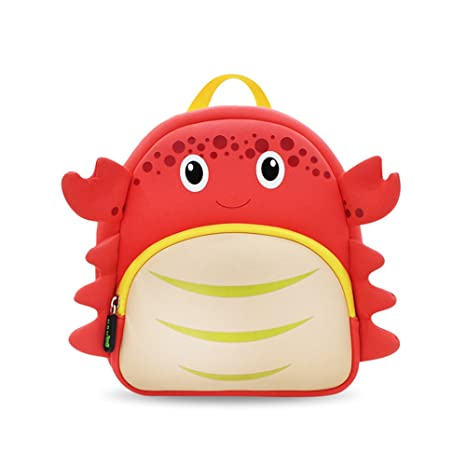 67dc291c091d Coavas Toddler Backpack Cute Crab Kids Preschool Cartoon Pack for 1-5 Y  Children  Amazon.ca  Luggage   Bags