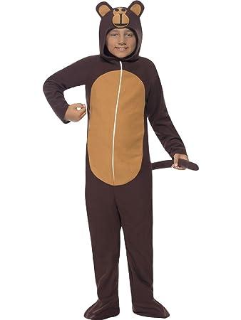 monkey costume large age 10 12 childrens animal fancy dress - Halloween Monkey Costumes