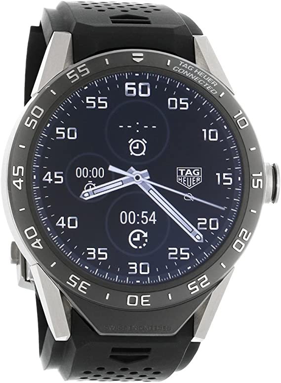 Amazon.com: Tag Heuer Connected SAR8A80.FT6045 Titanium ...