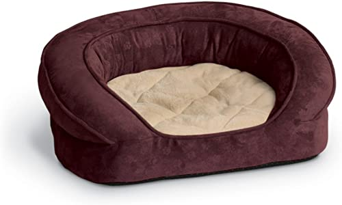 K H Pet Products Deluxe Ortho Bolster Sleeper Pet Bed